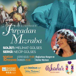 Fırçadan Mızraba Sergi/Konser